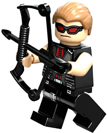 LEGO Marvel Super Heroes LOOSE Complete Mini Figure Hawkeye