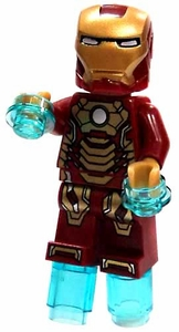 LEGO Marvel Super Heroes LOOSE Complete Mini Figure Iron-Man Mark 42 Armor