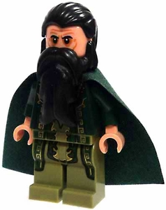 LEGO Marvel Super Heroes LOOSE Complete Mini Figure The Mandarin [Dark Green Robes & Cape]