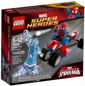 LEGO Marvel Super Heroes Set #76014 Spider-Trike vs. Electro New!