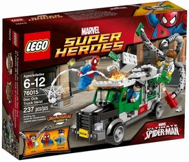 LEGO Marvel Super Heroes Set #76015 Doc Ock Truck Heist New!