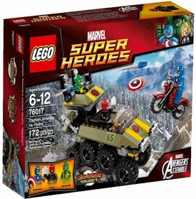 LEGO Marvel Super Heroes Set #76017 Captain America vs Hydra New!