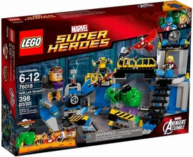 LEGO Marvel Super Heroes Set #76018 Hulk Lab Smash