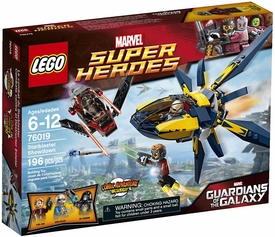 LEGO Marvel Super Heroes Set #76019 Starblaster Showdown  New!