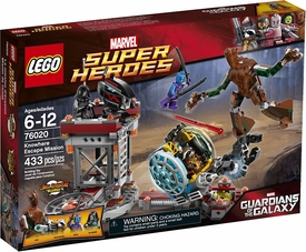 LEGO Marvel Super Heroes Set #76020 Knowhere Escape Mission New!