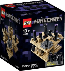 LEGO Minecraft Set #21107 Micro World: The End New!