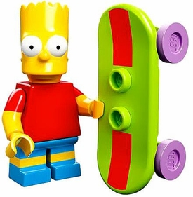 LEGO Minifigure Collection LEGO Simpsons Series LOOSE Bart Simpson