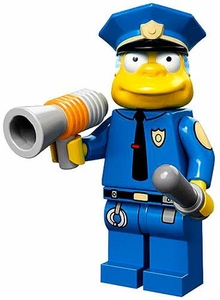 LEGO Minifigure Collection Simpsons Series LOOSE Chief Wiggum