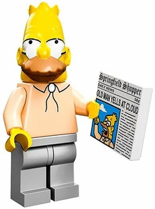 LEGO Minifigure Collection LEGO Simpsons Series LOOSE Grampa Abe Simpson