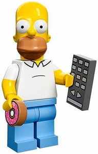 LEGO Minifigure Collection LEGO Simpsons Series LOOSE Homer Simpson