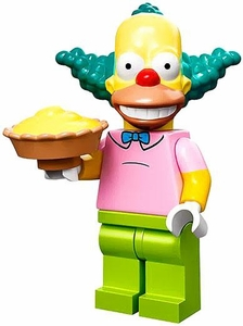 LEGO Minifigure Collection Simpsons Series LOOSE Krusty the Clown