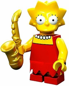 LEGO Minifigure Collection LEGO Simpsons Series LOOSE Lisa Simpson