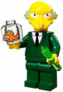 LEGO Minifigure Collection LEGO Simpsons Series LOOSE Mr. Burns