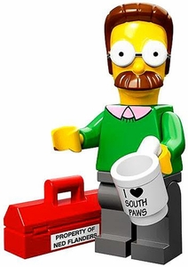 LEGO Minifigure Collection Simpsons Series LOOSE Ned Flanders