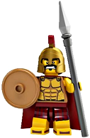 LEGO Minifigure Collection Series 2 LOOSE Mini Figure Spartan