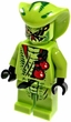 Lego Ninjago LOOSE Minifigure Lasha - Lime Green Figure with Headpiece and Poison Vials