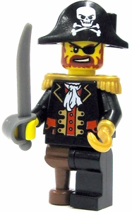 LEGO Pirate LOOSE Mini Figure Pirate Captain