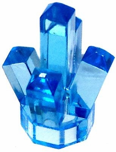 LEGO Power Miners LOOSE Accessory Light Blue Crystal