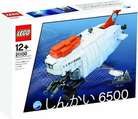 LEGO Set #21100 Shinkai 6500 Submarine New!