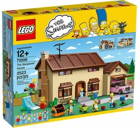 LEGO Simpsons Exclusive Set #71006 The Simpsons House