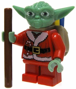LEGO Star Wars LOOSE Clone Wars Mini Figure Santa Yoda