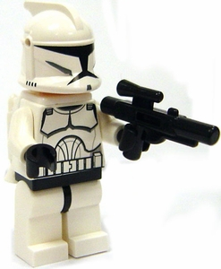 LEGO Star Wars LOOSE Figure Clone Trooper with Jet Pack