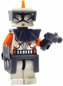 LEGO Star Wars LOOSE Mini Figure Commander Cody with Twin Blaster Pistols