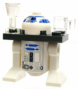 LEGO Star Wars LOOSE Mini Figure R2-D2 with Serving Tray [Sail Barge]