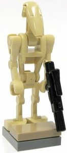 LEGO Star Wars LOOSE Minifigure B-1 Battle Droid with Stand