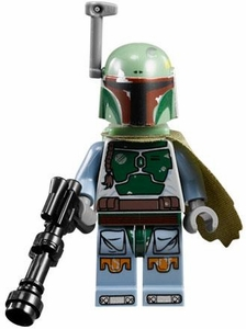 LEGO Star Wars LOOSE Minifigure Boba Fett with Blaster & Cape