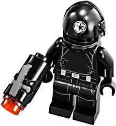 LEGO Star Wars LOOSE Minifigure Death Star Trooper with Firing Blaster