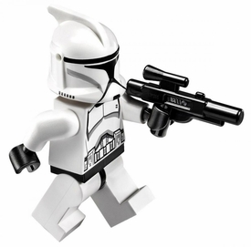 LEGO Star Wars LOOSE Minifigure EPII Clone Trooper with Blaster