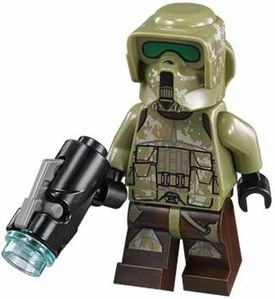 LEGO Star Wars LOOSE Minifigure Kashyyyk 41st Elite Corps Trooper with Firing Blaster