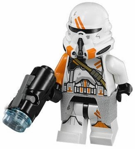 LEGO Star Wars LOOSE Minifigure Utapau Airborne Clone Trooper with Firing Blaster