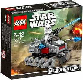 LEGO Star Wars Microfighters Set #75028 Clone Turbo Tank