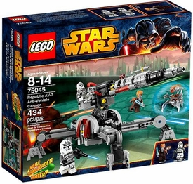 LEGO Star Wars Set #75045 Republic AV-7 Anti-Vehicle Cannon