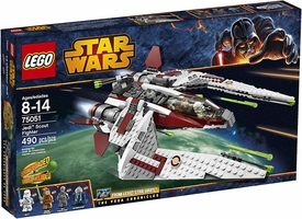 LEGO Star Wars Set #75051 Jedi Scout Fighter New!