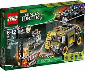 LEGO Teenage Mutant Ninja Turtles Set #79115 Turtle Van Takedown New!