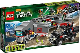 LEGO Teenage Mutant Ninja Turtles Set #79116 Big Rig Snow Getaway New!