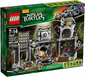 LEGO Teenage Mutant Ninja Turtles Set #79117 Turtle Lair Invasion New!
