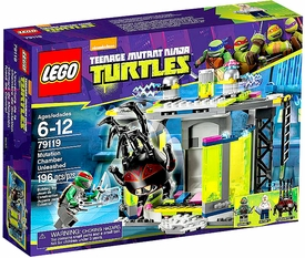 LEGO Teenage Mutant Ninja Turtles Set #79119 Mutation Chamber Unleashed