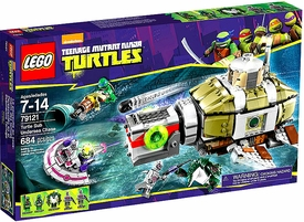 LEGO Teenage Mutant Ninja Turtles Set #79121 Turtle Sub Undersea Chase