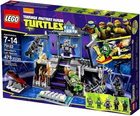 LEGO Teenage Mutant Ninja Turtles Set #79122 Shredder's Lair Rescue