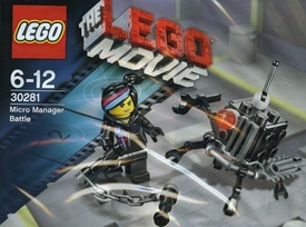 LEGO The Movie Exclusive Set #30281 Micro Manager Battle [Bagged] (Coming Soon)