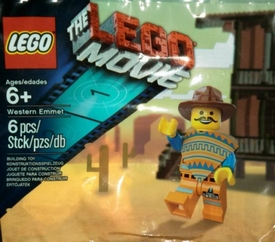 LEGO The Movie Exclusive Set #5002204 Western Emmet [Bagged] (Coming Soon)
