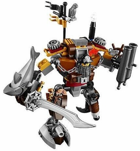 LEGO The Movie LOOSE Figures Metalbeard vs. Micro Manager