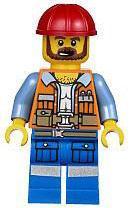 LEGO The Movie LOOSE Minifigure Frank the Foreman