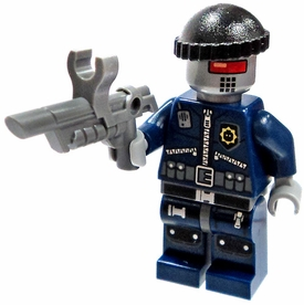LEGO The Movie LOOSE Minifigure Robo SWAT in Knit Cap