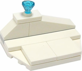 LEGO the Movie LOOSE Terrain Ice Shelf with Diamond