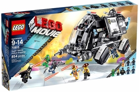 LEGO The Movie Set #70815 Super Secret Police Dropship